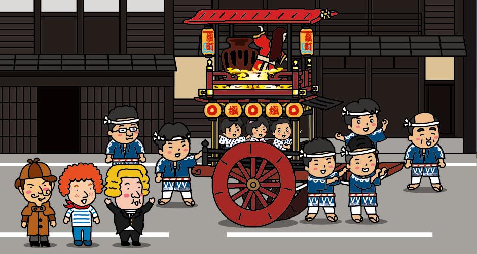 新潟県 村上 村上大祭 おしゃぎり おしゃぎり会館