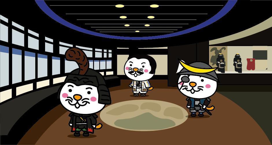仙台城三の丸跡に位置する仙台市美術館は、伊達家が仙台市に寄贈した文化財を保管・展示している美術館です。仙台藩に関連する歴史資料、文化資料、美術工芸品など約9万7000点が収蔵されていて、そのうち約1000点が展示されています。