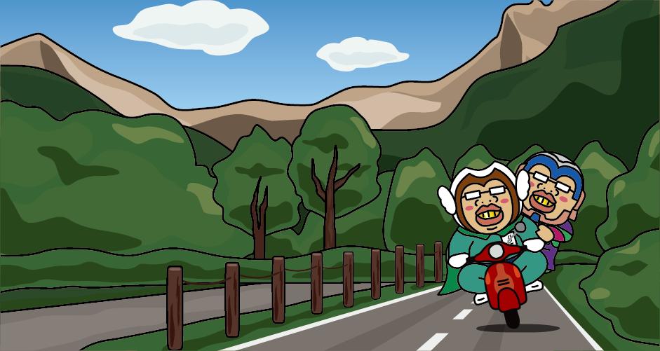 磐梯山 噴火 裏磐梯と猪苗代を結ぶ 磐梯山ゴールドライン こがね平 黄金平 ドライブ