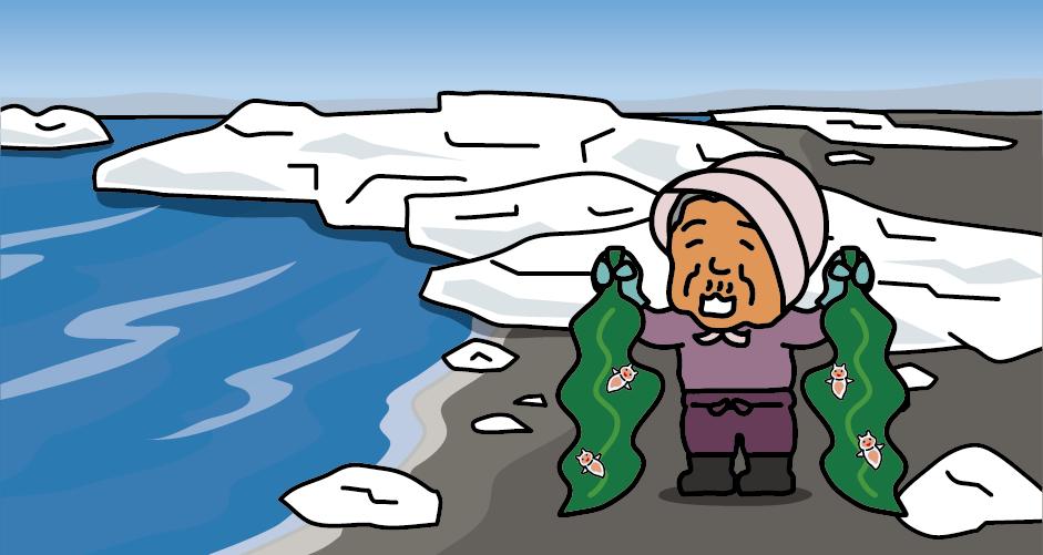 それまでクリオネは深海に生息していると考えられていた 1990年頃の冬、北海道網走市の海岸を歩いていた主婦が拾って来た昆布にクリオネが付着していたのをオホーツク水族館に連絡した 海岸でもクリオネが採取できるとクリオネ採りのブームが起こった