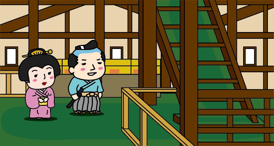 弘前城 天守 史料館