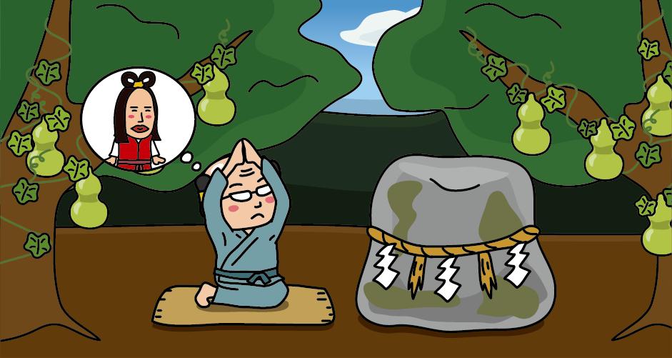 籠神社の元宮・真名井神社の磐石