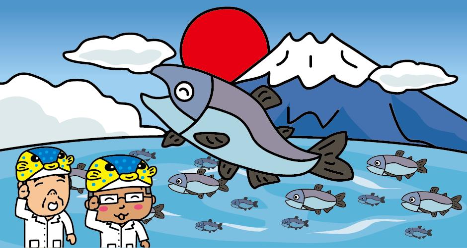 富士山の西湖でクニマスが発見